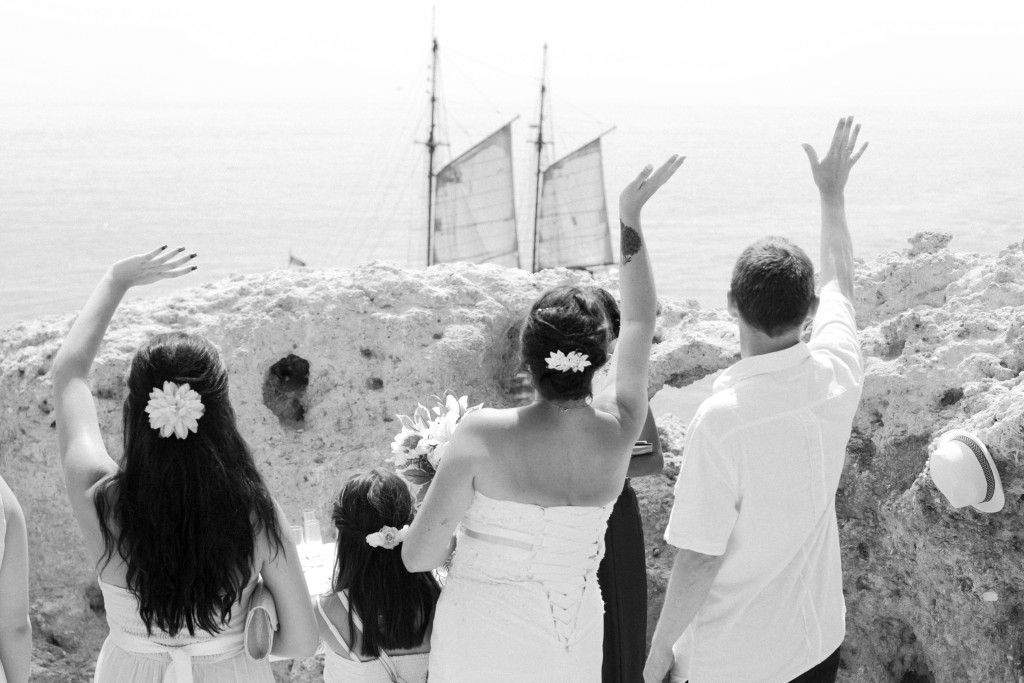 Ceremony in Algarve
